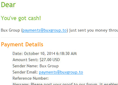Bux Group Forum • View topic - Probux seems gone, but Bux group paid me.