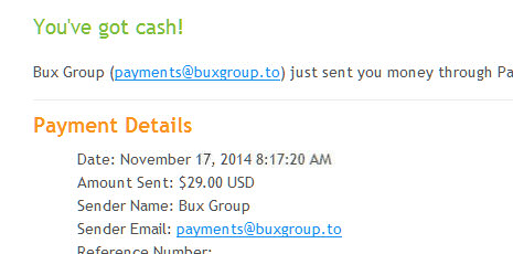 Bux Group Forum • View topic -  Received