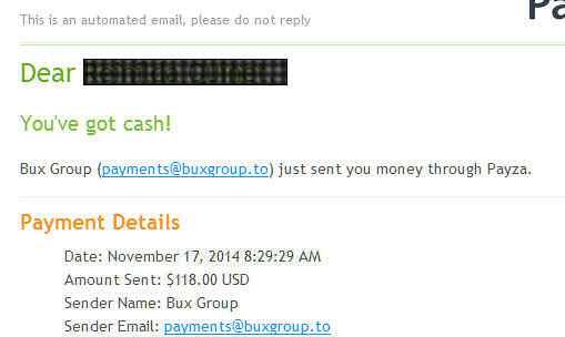 Bux Group Forum • View topic - Super Payment Bux Group Sent Me 8